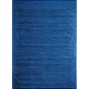 Lunar Klein Blue Rectangular: 7 Ft. 9 In. x 10 Ft. 10 In. Rug