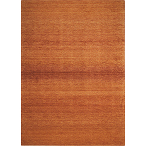 Linear Glow Watercolor Cumin Rectangular: 7 Ft. 9 In. x 10 Ft. 10 In. Rug