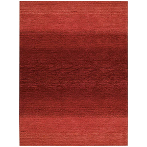 Linear Glow Watercolor Sumac Rectangular: 5 Ft. 3 In. x 7 Ft. 5 In. Rug