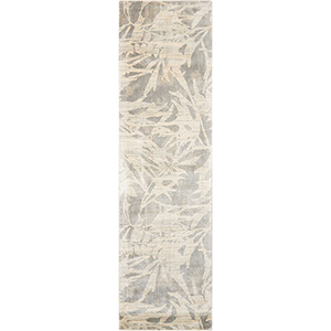Maya Borneo Zinc Runner: 2 Ft. 3 In. x 8 Ft. Rug