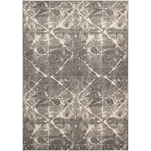 Gradient Shibori Granite Rectangular: 5 Ft. 6 In. x 8 Ft. Rug