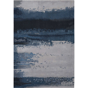 Luster Wash Dusk Shade Rectangular: 3 Ft. x 5 Ft. Rug