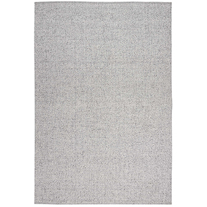 Tobiano Roan Silver Rectangular: 4 Ft. x 6 Ft. Rug