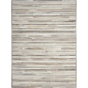Prairie Silver Rectangular: 5 Ft. 6 In. x 7 Ft. 5 In. Rug