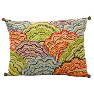 Fantasia Multicolor 12 x 17-Inch Pillow