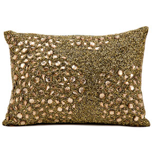 Luminecence Amber 10 x 14-Inch Pillow