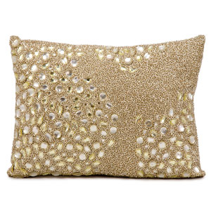 Luminecence Beige 10 x 14-Inch Pillow