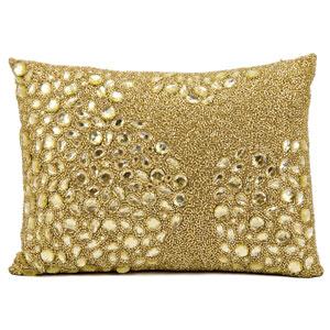 Luminecence Light Gold 10 x 14-Inch Pillow