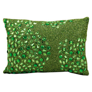 Luminecence Apple Green 10 x 14-Inch Pillow