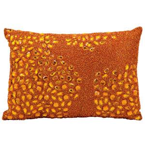 Luminecence Orange 10 x 14-Inch Pillow