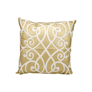 Luminecence Gold 20-Inch Pillow