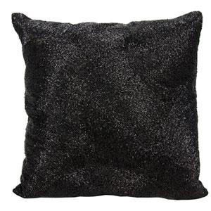Luminecence Black 20-Inch Pillow