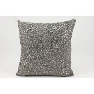 Luminecence Pewter 20-Inch Pillow