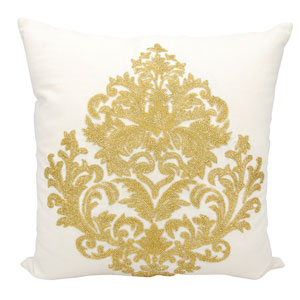 Luminecence Gold 18-Inch Pillow