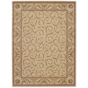 Somerset Ivory Rectangular: 5 Ft. 6 In. x 7 Ft. 5 In. Rug
