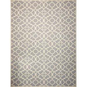 Sun And Shade Gray Rectangular: 5 Ft. 3-Inch x 7 Ft. 5-Inch Rug