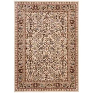 American Jewel Ivory Rectangular: 7 Ft 10 In x 10 Ft 10 In Rug