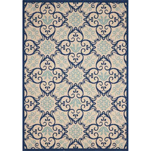 Caribbean Multicolor Rectangular: 5 Ft. 3-Inch x 7 Ft. 5-Inch Rug