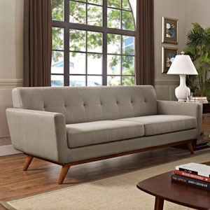 Engage Upholstered Sofa in Granite