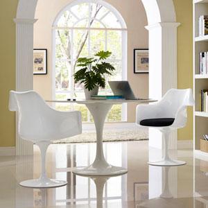 Lippa Dining Armchair Set of 2 in Black