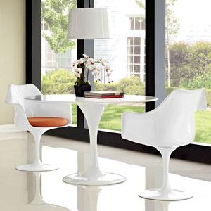 Lippa Dining Armchair Set of 2 in Orange