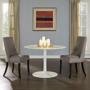 Reverie Dining Side Chair Set of 2 in Gray