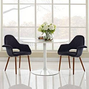 Aegis Dining Armchair Set of 2 in Black