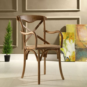 Gear Dining Armchair in Walnut
