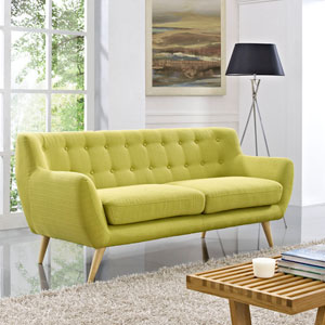 Remark Sofa in Wheatgrass
