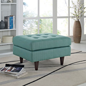 Modway Furniture Empress Lounge Chair In Azure Eei 2140