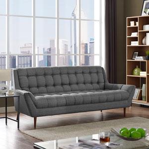 Response Fabric Sofa in Gray