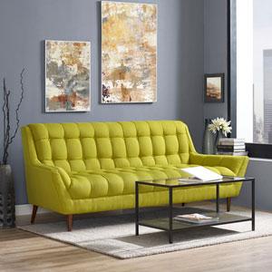 Response Fabric Sofa in Wheatgrass