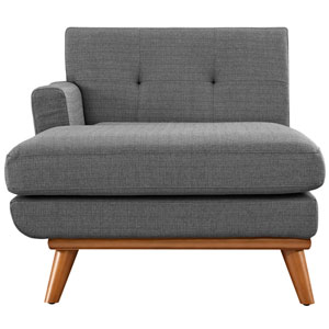 Engage Left-Arm Chaise in Gray