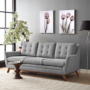 Beguile Fabric Sofa in Expectation Gray