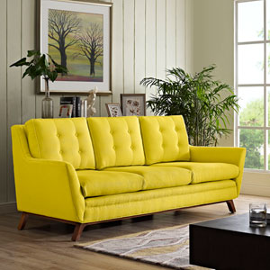 Beguile Fabric Sofa in Sunny