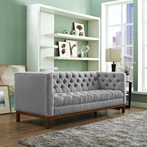 Panache Fabric Sofa in Expectation Gray
