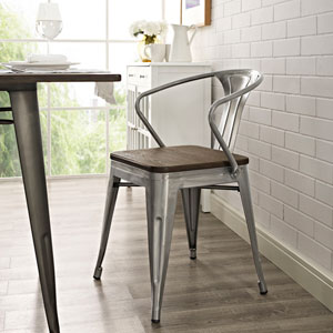 Promenade Dining Chair in Gunmetal