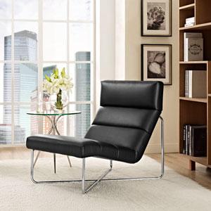 Reach Lounge Chair in Black