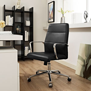 Stride Mid Back Office Chair in Black