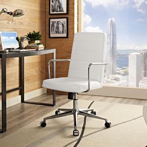 Cavalier Highback Office Chair in White