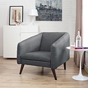 Slide Armchair in Gray
