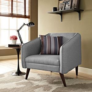 Slide Armchair in Light Gray