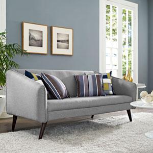 Slide Sofa in Light Gray