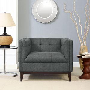 Serve Armchair in Gray