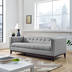 Serve Sofa in Light Gray