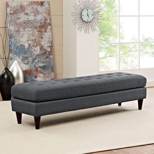 Empress Bench in Gray