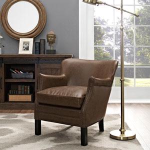 Key Armchair in Brown