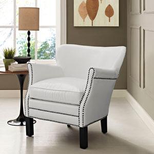 Key Armchair in White