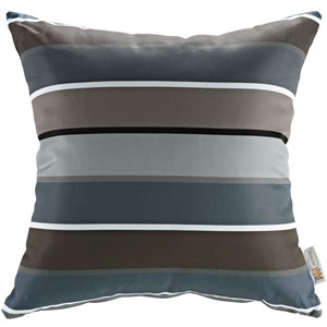 Outdoor Patio Pillow in Stripe