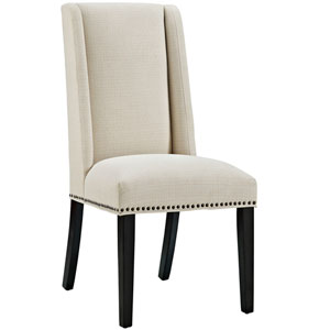 Baron Fabric Dining Chair in Beige